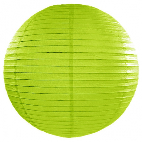 Geen Lampion 50 cm groen Feestartikelen diversen