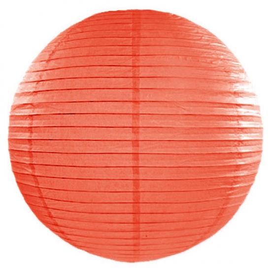 Lampion 50 cm oranje Geen Feestartikelen diversen