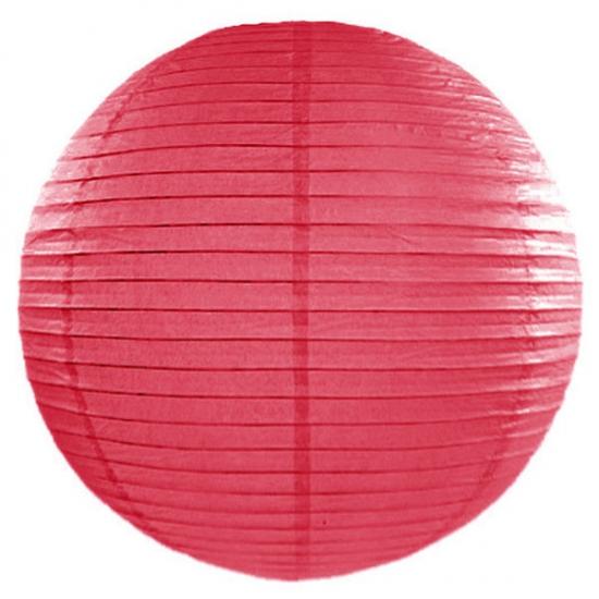 Feestartikelen diversen Lampion 50 cm roze