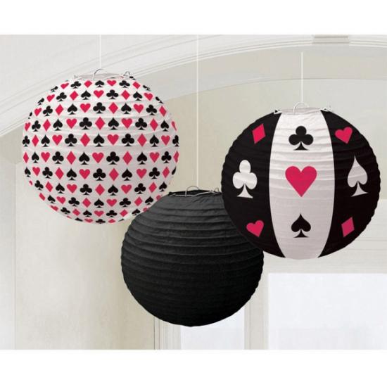 Thema feestartikelen Geen Lampion poker spel