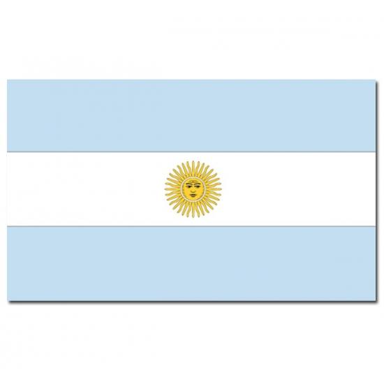 Landen versiering en vlaggen Geen Landenvlag Argentinie