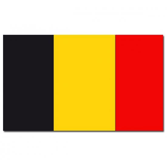 Landen versiering en vlaggen Landenvlag Belgie
