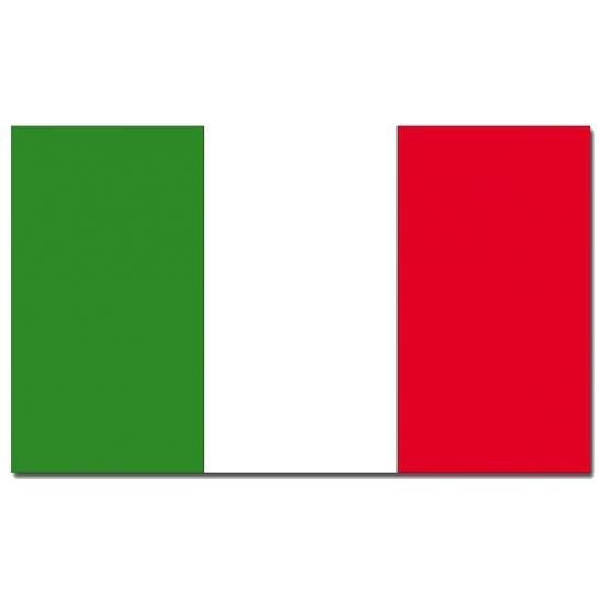 Landen versiering en vlaggen Geen Landenvlag Italie 90 x 150 cm