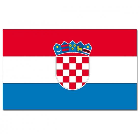 Landenvlag Kroatie Geen Landen versiering en vlaggen