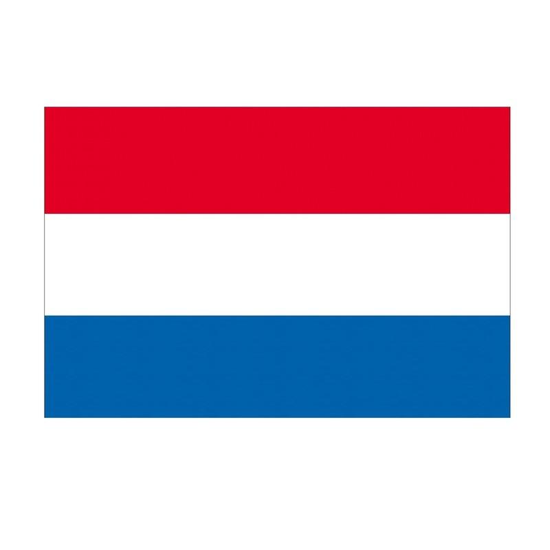 Landen versiering en vlaggen Geen Landenvlag Nederland