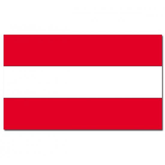 Landenvlag Oostenrijk Geen nieuw
