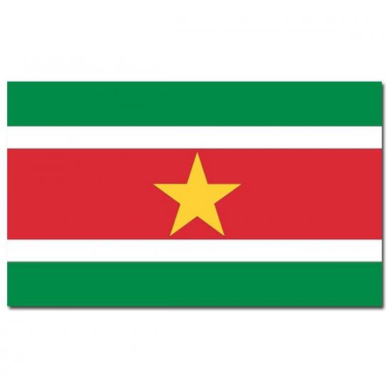 Landenvlag Suriname Geen gaafste producten