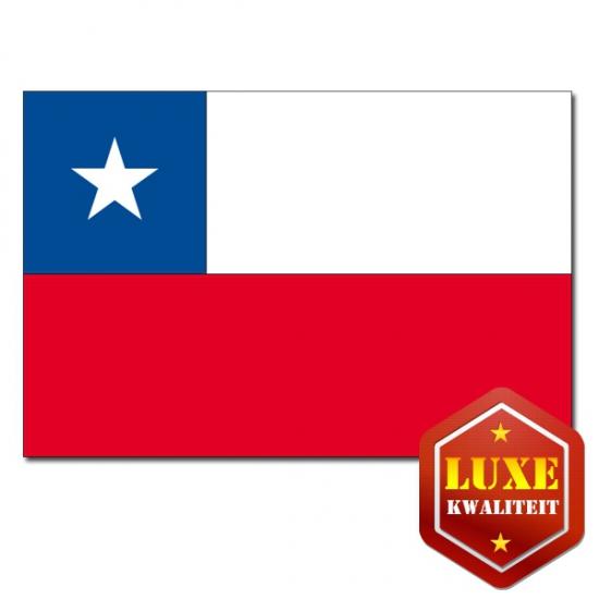 Geen Luxe kwaliteit Chileense vlaggen Landen versiering en vlaggen