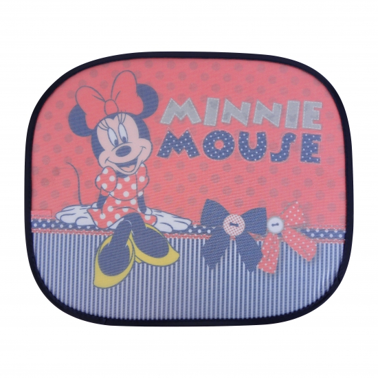 Minnie Mouse rood auto zonnebeschermers 2 st