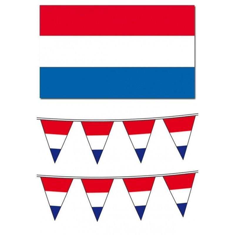 Nederlandse vlaggen pakket Geen Geweldig