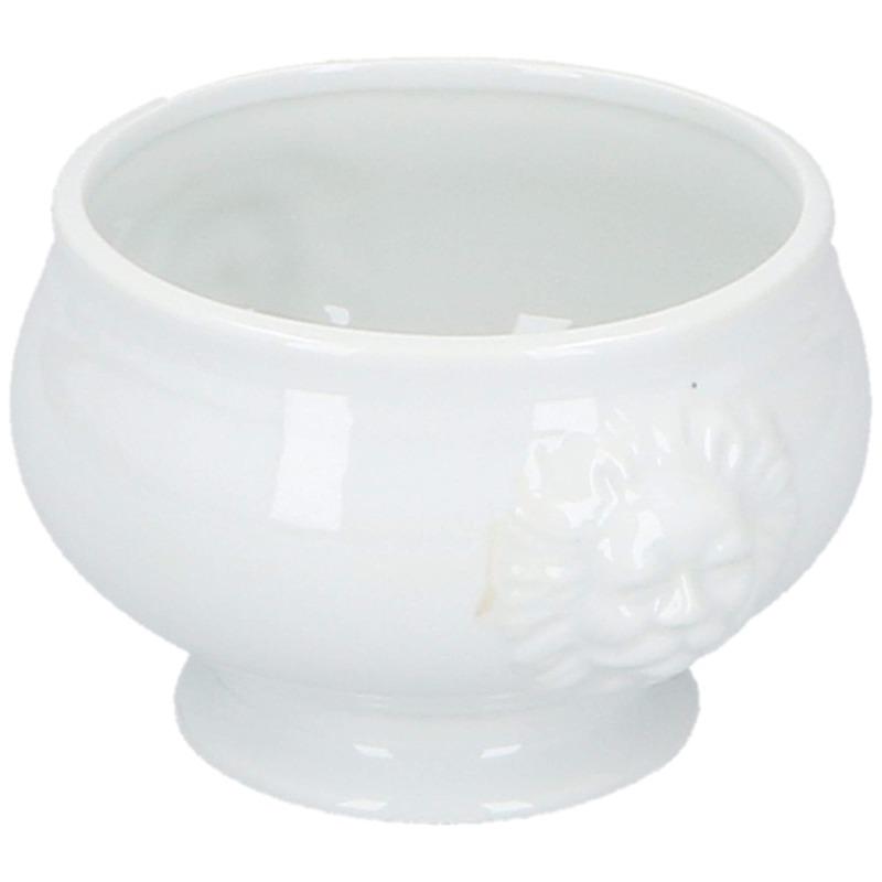 Noodle bowl-soep kom wit porselein 14 cm