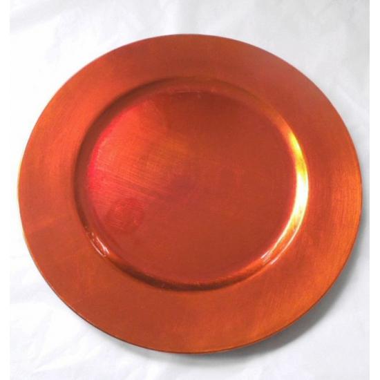 Geen Oranje onderzetbord rond 33 cm Keuken