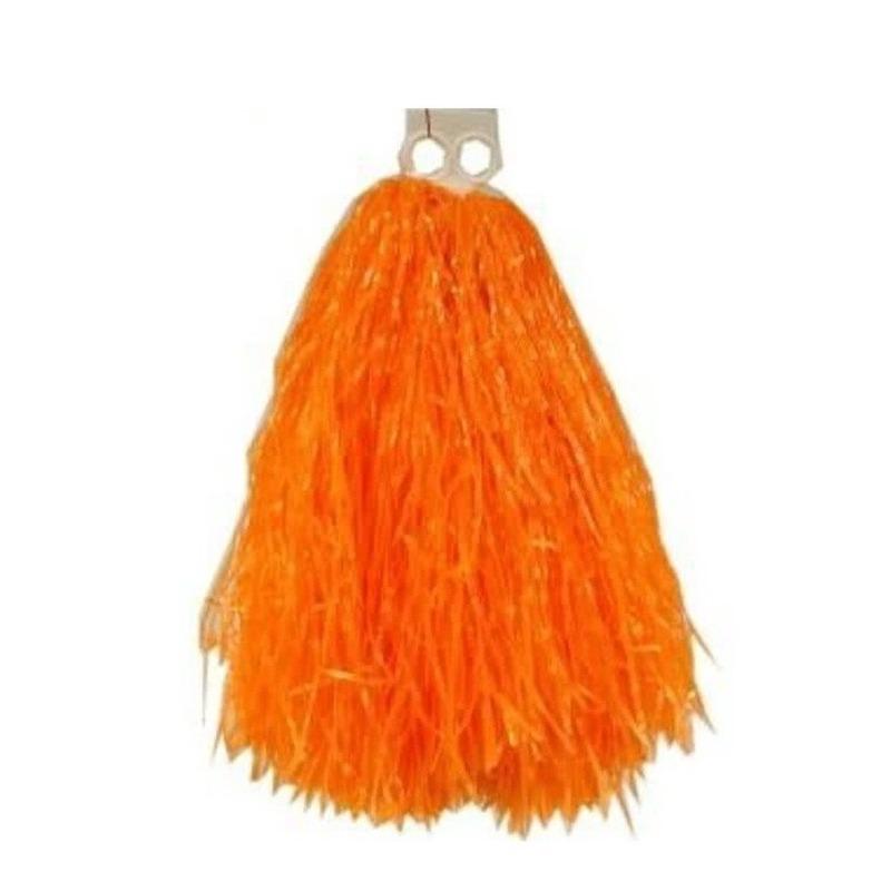 Geen Oranje pompons 33 cm Feestartikelen diversen