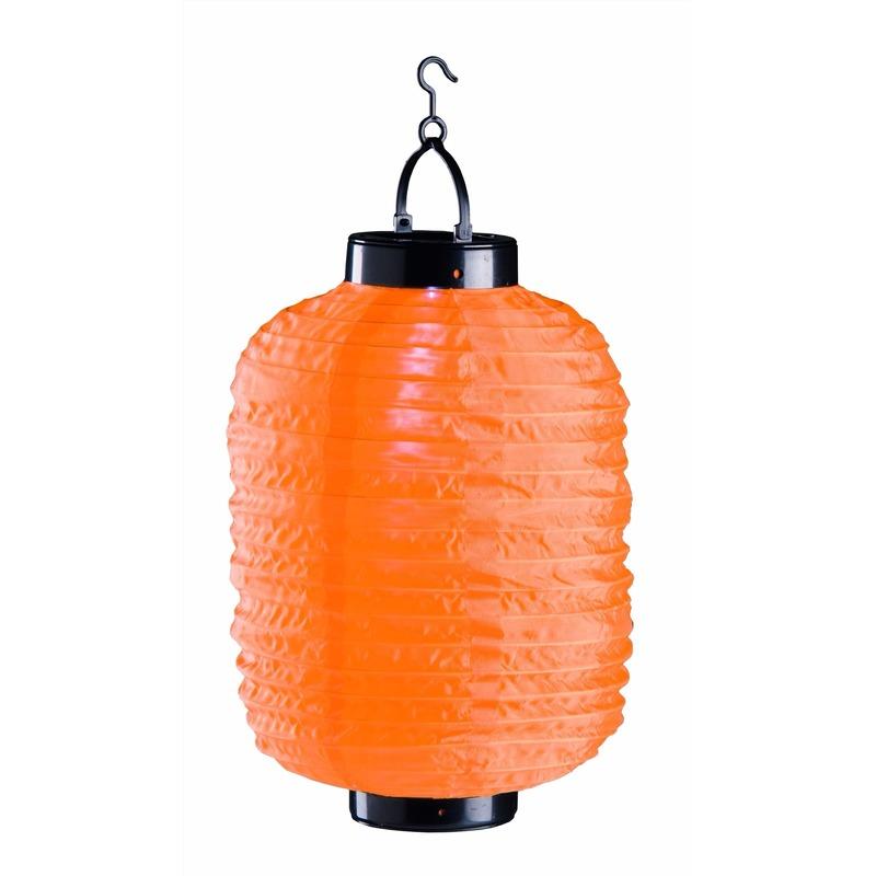 Tuin artikelen Oranje solar lampion 35 cm