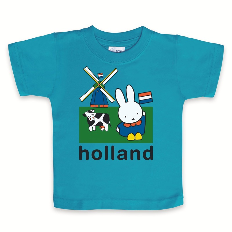 Petrol Holland Nijntje baby shirtje expat kado