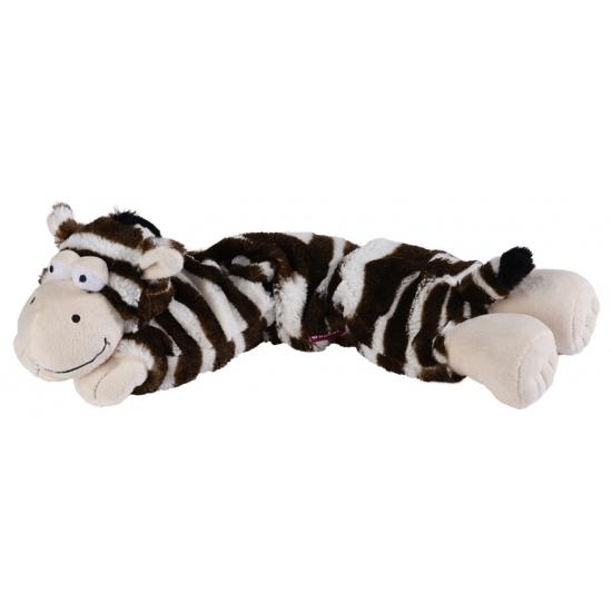 Pluche hotpack knuffel zebra
