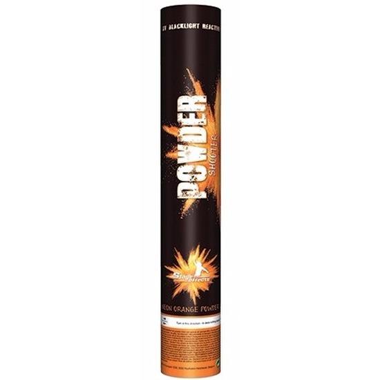 Poeder kanon oranje UV 40 cm Geen Hoge kwaliteit
