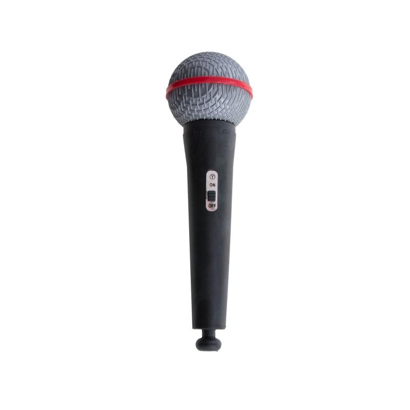 Popstar speelgoed microfoon 19 cm