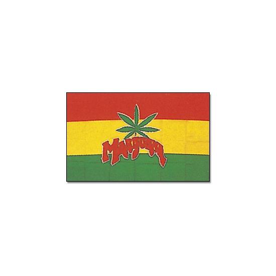 Rasta vlaggen Cannabis Geen te koop