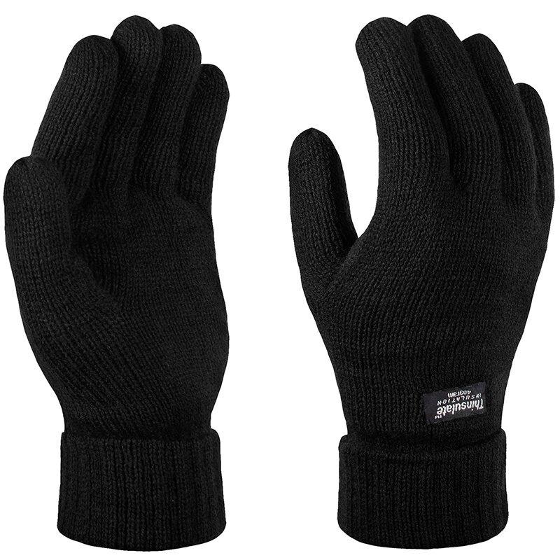 Regatta gebreide handschoenen zwart