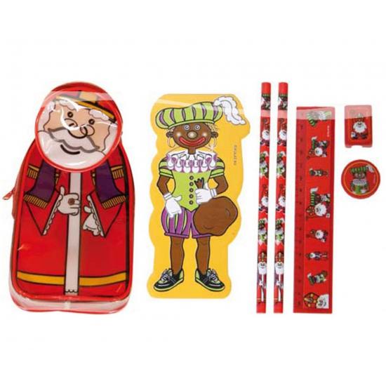 Sinterklaas en zwarte roetveeg Piet etui
