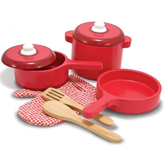Speelgoed keuken gerei van hout