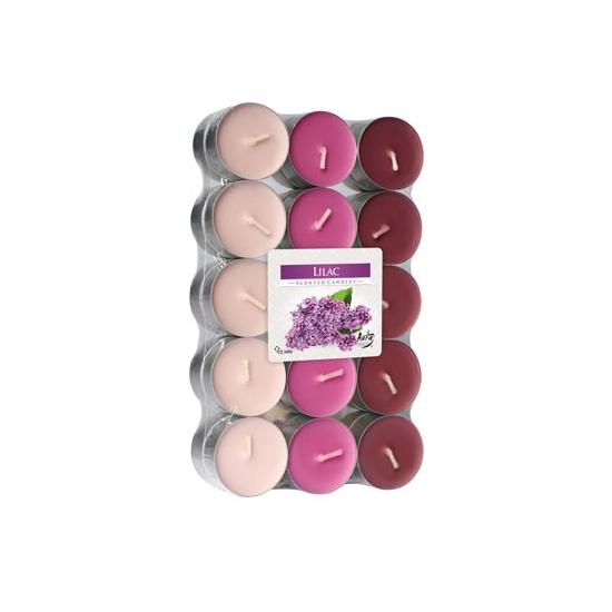 Theelichten lilac 30 stuks Geen Goedkoop