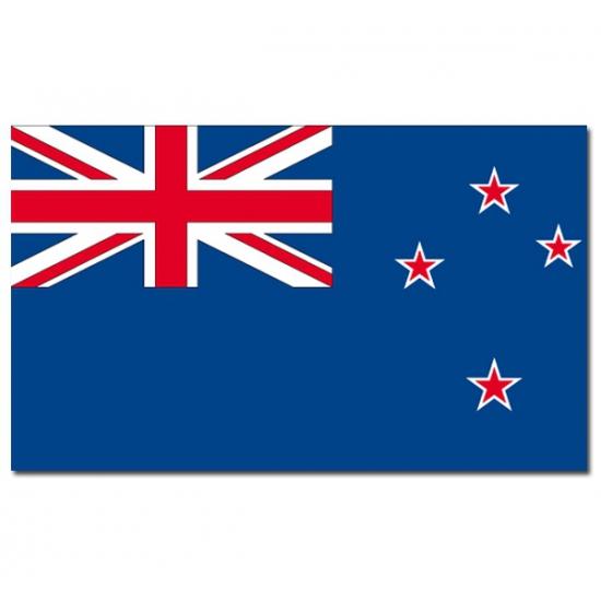 Vlag Nieuw Zeeland 90 x 150 cm feestartikelen