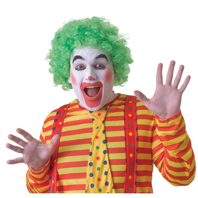 /feestartikelen/verkleed-accessoires/pruiken-baard-snorren/feest-pruiken/clowns-pruiken