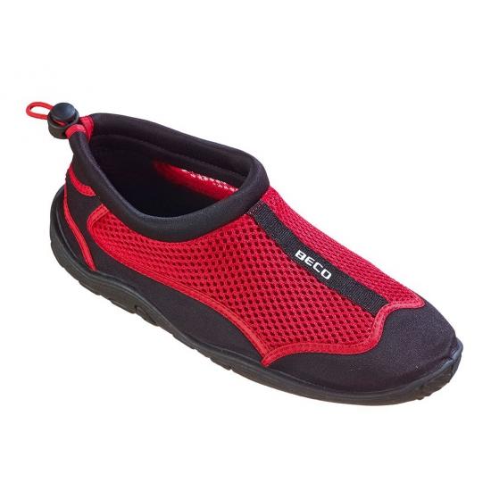 Waterschoenen met anti-slip zool rood