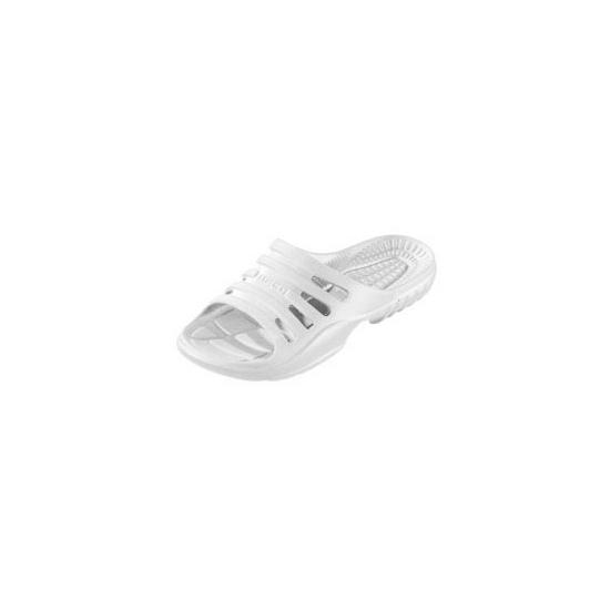 Wit gekleurde zwembad sandalen voor heren