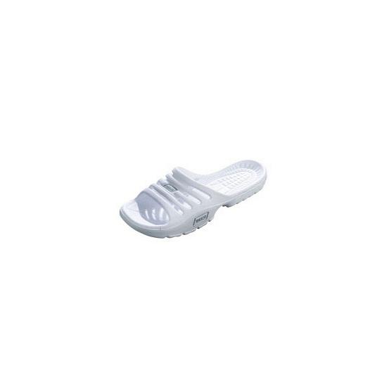 Witte zwembad sandalen voor dames