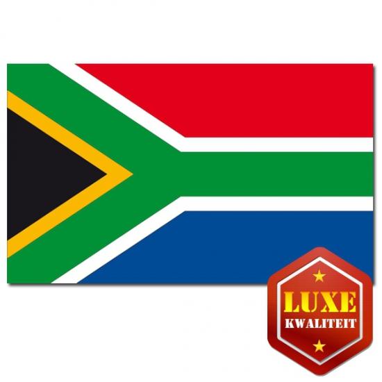 Landen versiering en vlaggen Zuid Afrika kwaliteits vlaggen