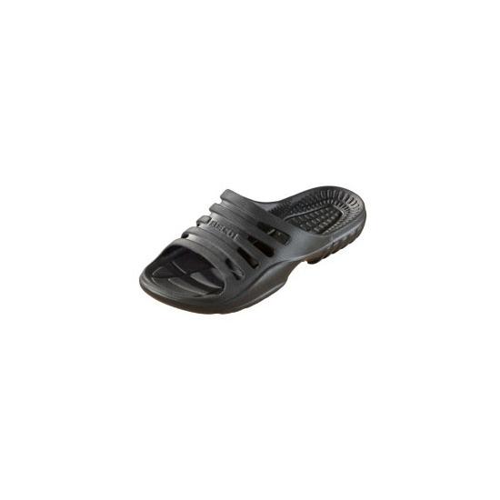 Zwart gekleurde zwembad sandalen voor heren