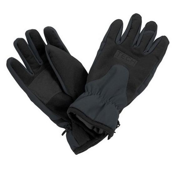 Zwart-grijze wintersport handschoenen voor volwassenen