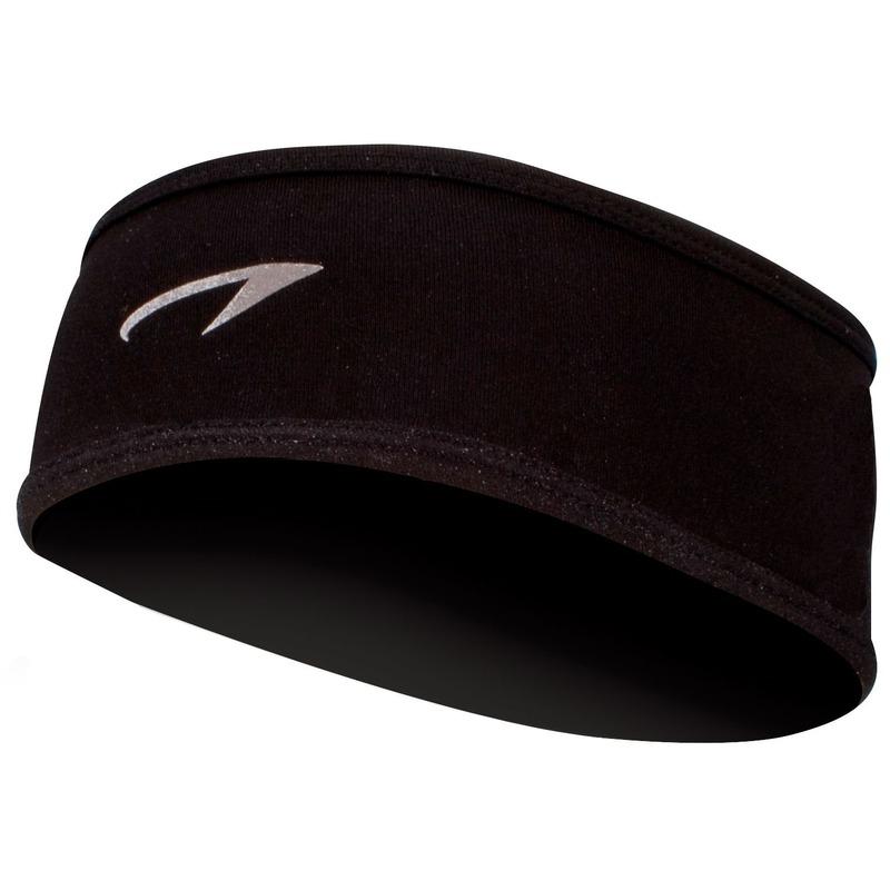 Zwarte sport hoofdband voor volwassenen
