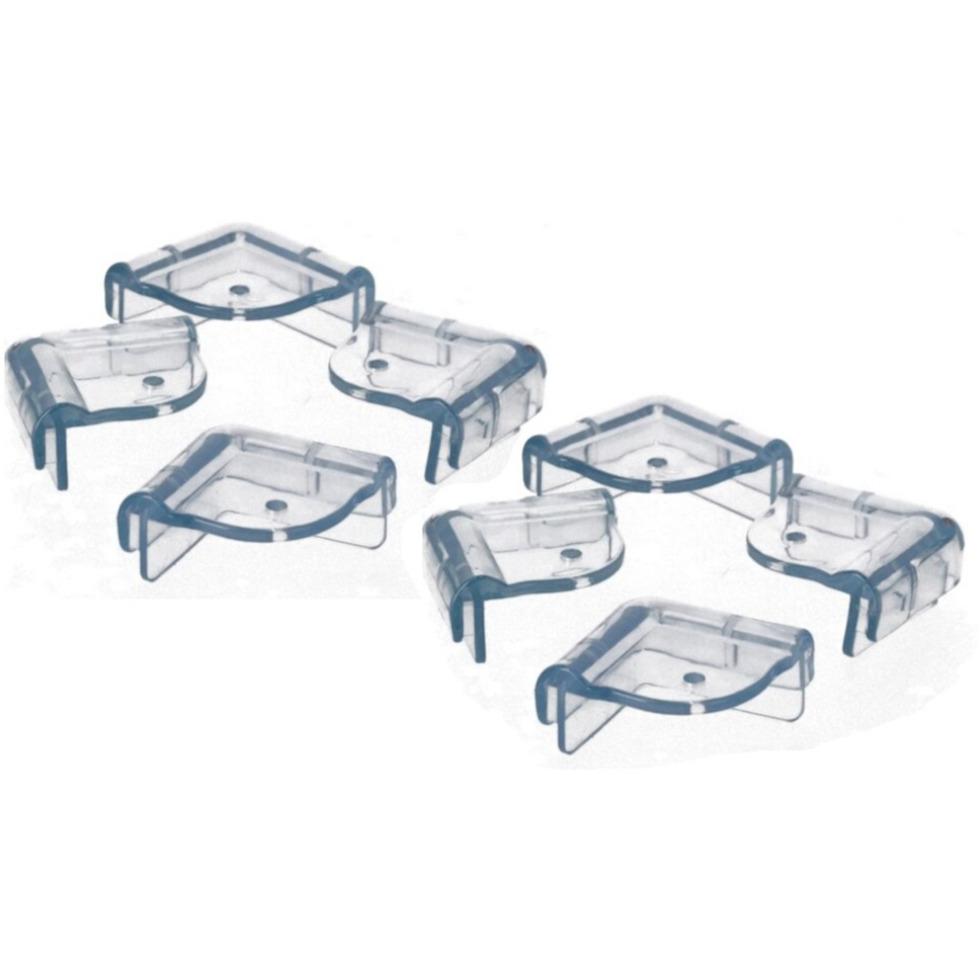 8x Veiligheids hoekbeschermer voor scherpe hoeken-tafels