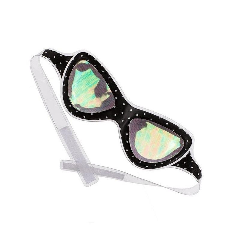 Alien bril-oogmasker voor volwassenen