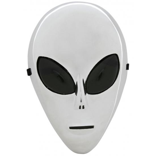 Alien masker zilver