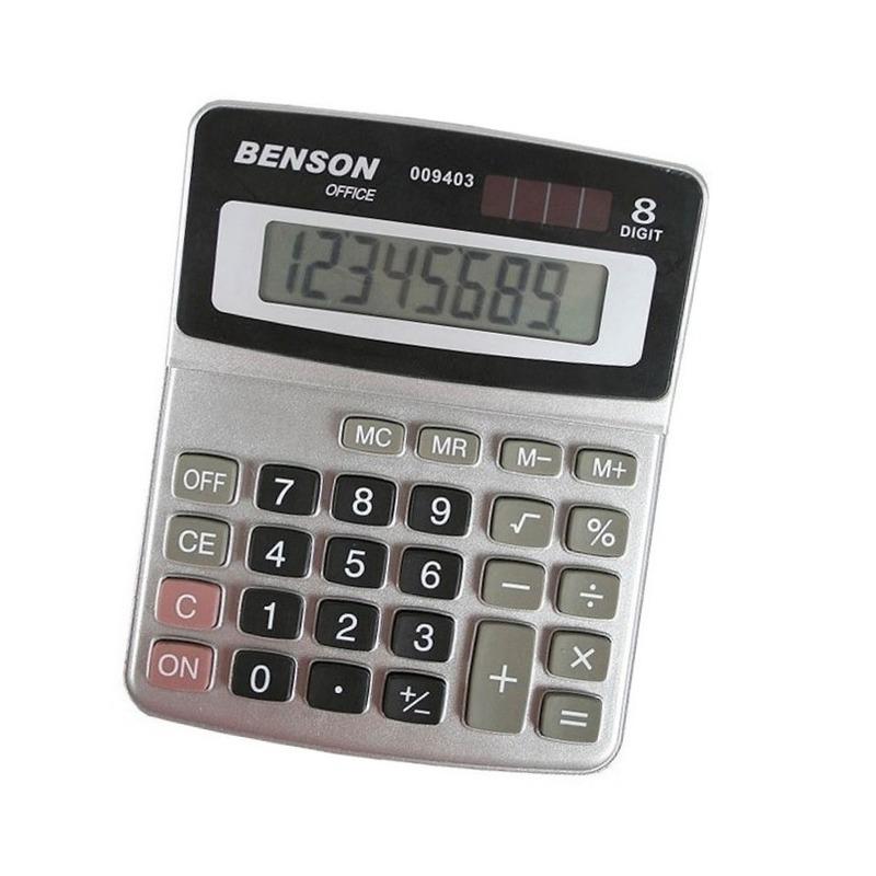 Basic bureau rekenmachine voor kantoor of school