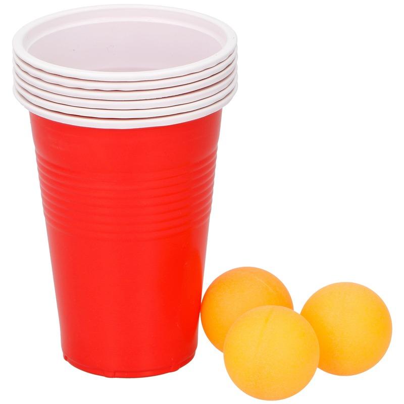 Beer pong drankspel-drinkspel 9 delig
