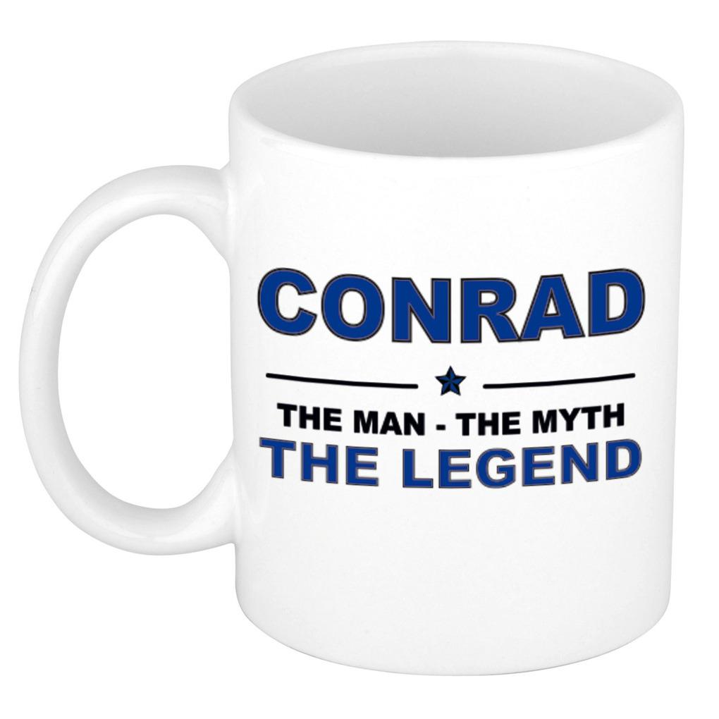 Conrad The man, The myth the legend collega kado mokken-bekers 300 ml