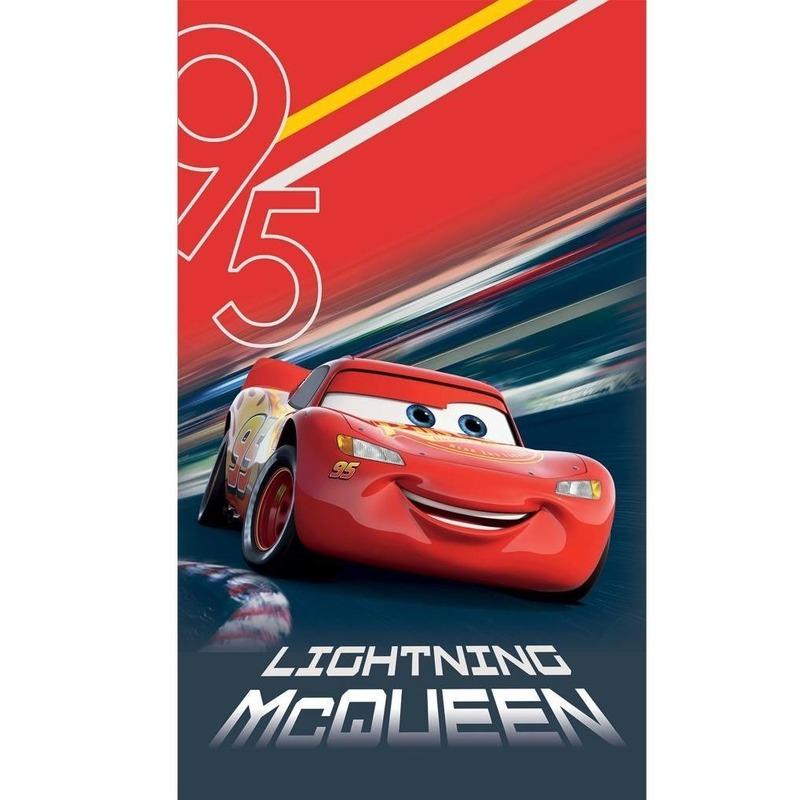 Disney Cars Lightning McQueen badlaken-strandlaken 70 x 120 cm