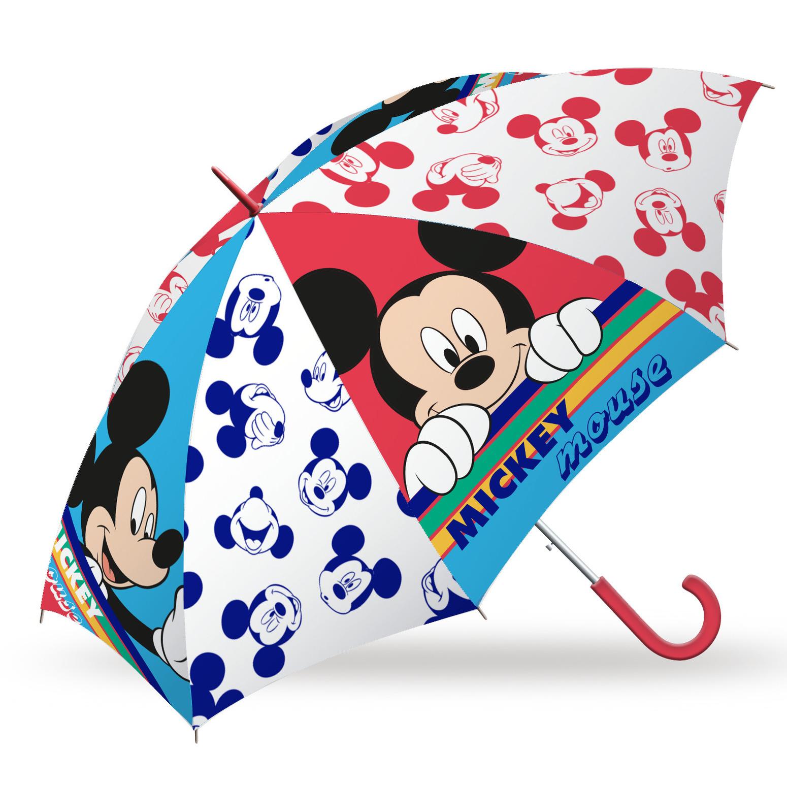 Disney Mickey Mouse paraplu voor kinderen 45 cm