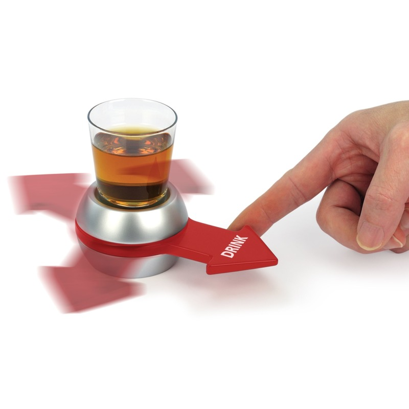 Drankspel-drinkspel shot spinner