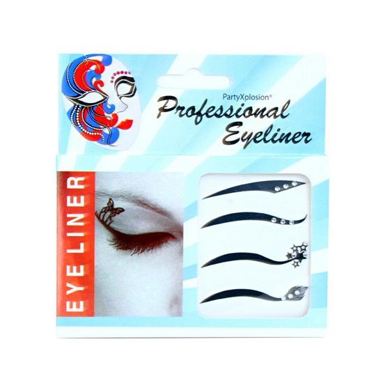 Eyeliner stickers strass steentjes