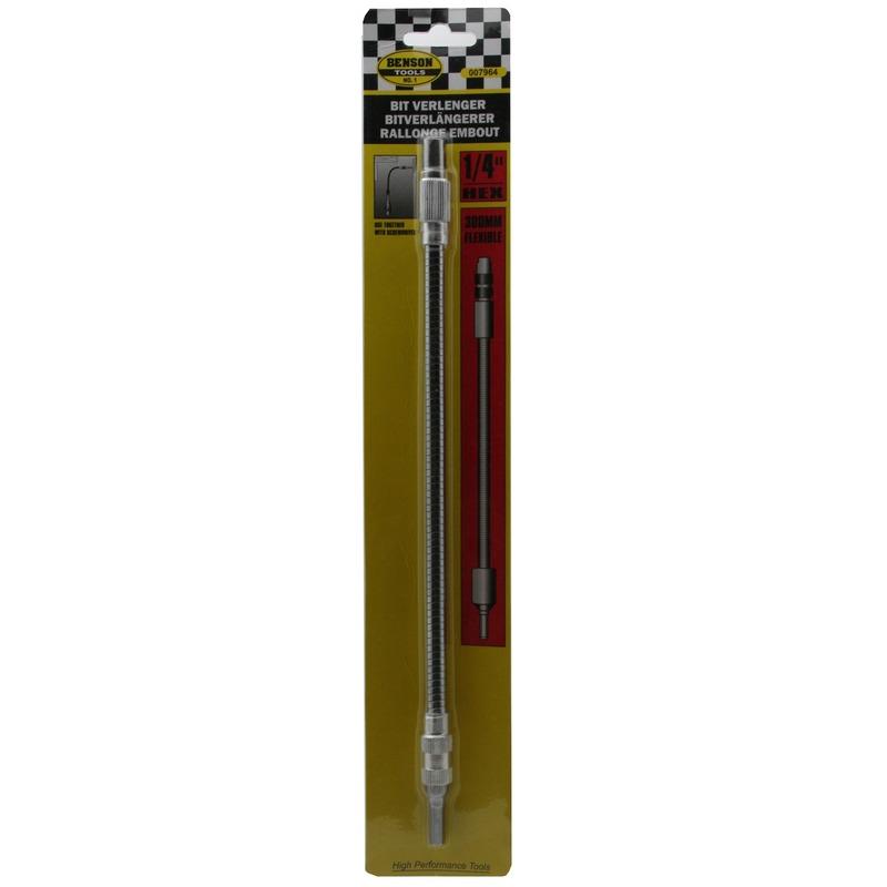 Flexibele bit verlenger-bitverlengstuk 300 mm