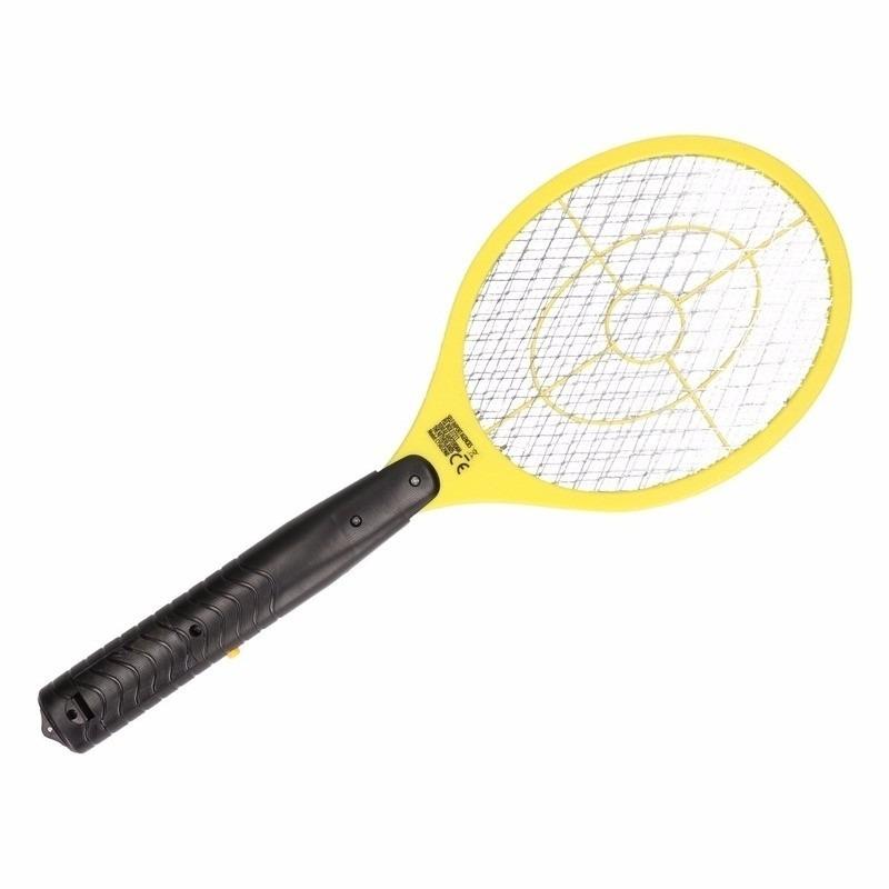 Gele elektrische vliegenmepper