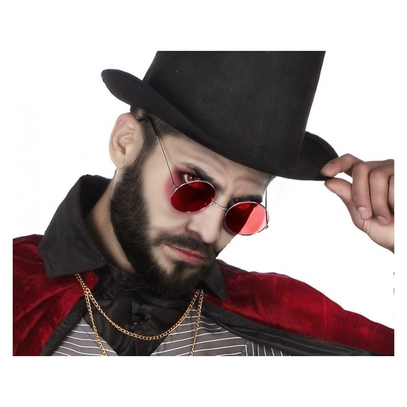 Horror rode Dracula verkleed bril voor volwassenen