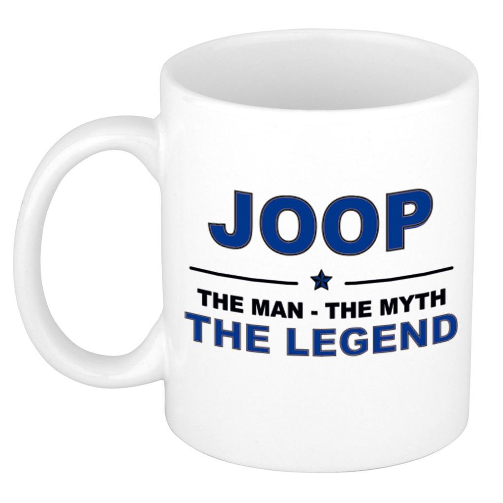 Joop The man, The myth the legend collega kado mokken-bekers 300 ml